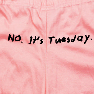 No It's Tuesday Girls Shorts
