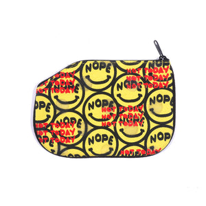 Nope Not Today Yellow Coin Purse