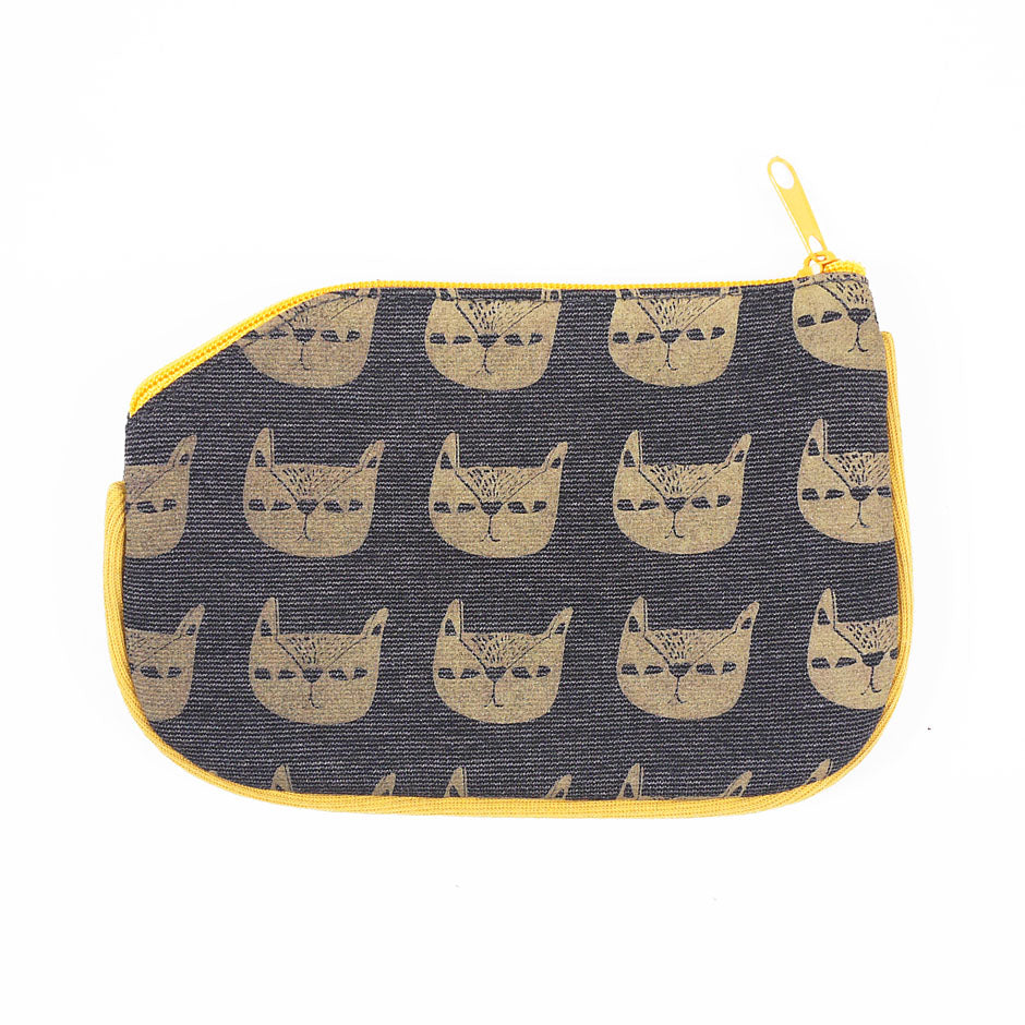 Pusa Pattern Coin Purse