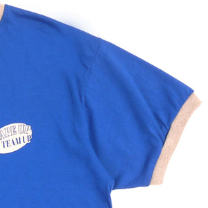 Small print shape Guys Ringer Tee