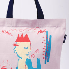 Load image into Gallery viewer, Sit Down Gusset Tote Bag