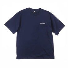 Load image into Gallery viewer, Small Artwork Logo Navy Pocket Guys Tee