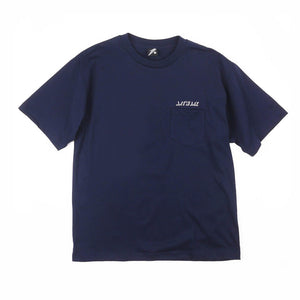 Small Artwork Logo Navy Pocket Guys Tee