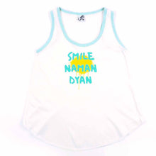 Load image into Gallery viewer, Smile Naman Dyan Font Spray Tank Top