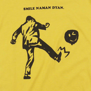 Smile Naman Dyan Yellow Girls Tee