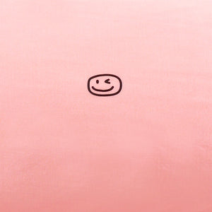 Smiley Wink Pink 2 Pc. Bed Pillowcase