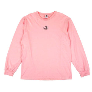 Smiley Wink Pink Sweater