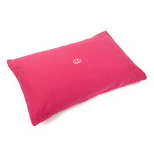 Load image into Gallery viewer, Smiley Wink Fuchsia 2 Pc. Bed Pillowcase