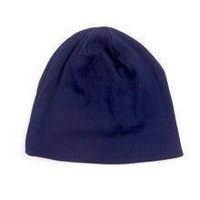 Load image into Gallery viewer, Smiley Wink Navy Beanie