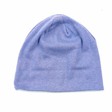 Load image into Gallery viewer, Smiley Wink Lt. Blue Beanie