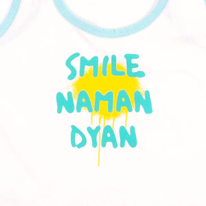 Smile Naman Dyan Font Spray Tank Top