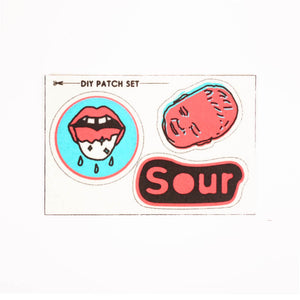 Sour Pouch and DIY Patch Set