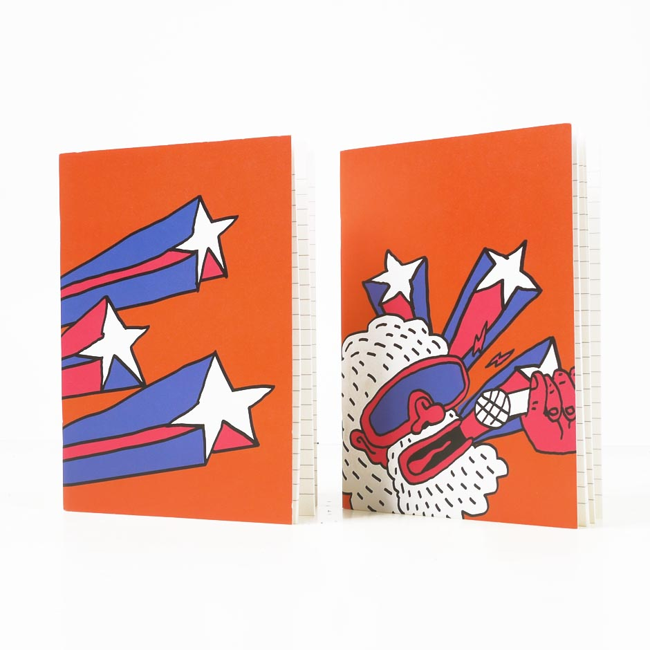 Starman Notebook Set