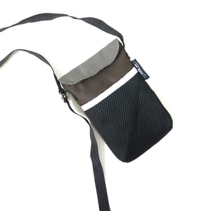 Brown/Black String Phone Pouch