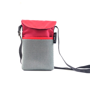 Red/Maroon String Phone Pouch