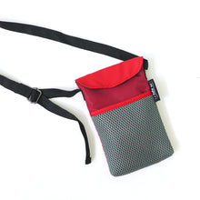 Load image into Gallery viewer, Red/Maroon String Phone Pouch
