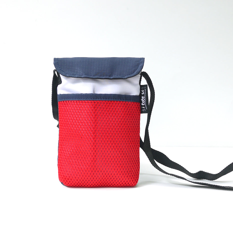 Red/White/Blue String Phone Pouch