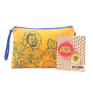 Sunny Flower Pouch and Pins Set