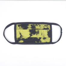 Load image into Gallery viewer, Tdye Charcoal Yellow Washable Face Mask