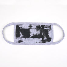 Load image into Gallery viewer, Tdye Gray Black Washable Face Mask