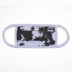 Tdye Gray Black Washable Face Mask