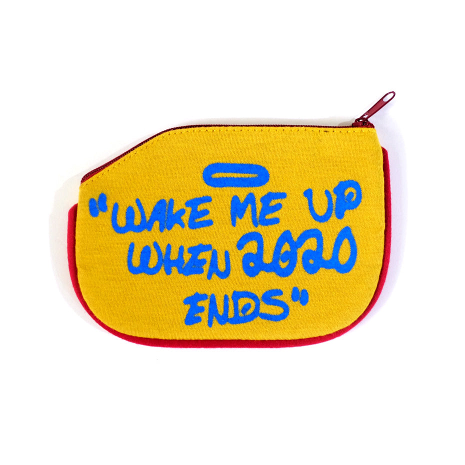 Wake Me Up Coin Purse