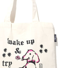 Load image into Gallery viewer, Wake Up & Try Again Tote Bag