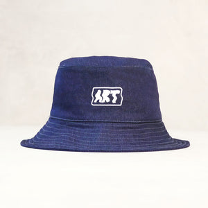 Warp Art Denim Bucket Hat