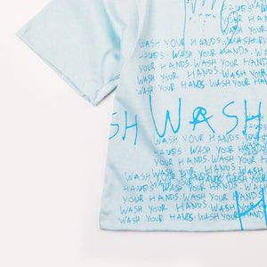 Wash Your Hands Girls Tee