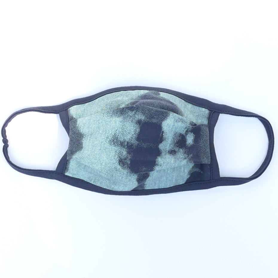 Wave Charcoal Mint Washable Face Mask