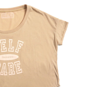 Self Care Girls Cropped Tee