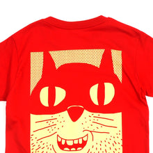 Load image into Gallery viewer, Yellow Cat Girls Tee