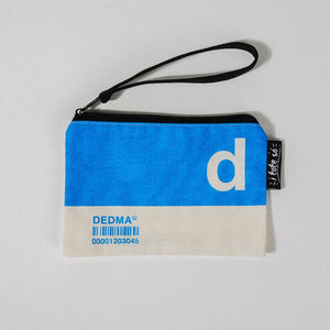 D Alphabet Tote Bag and Pouch Set