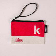 Load image into Gallery viewer, K Alphabet Tote Bag and Pouch