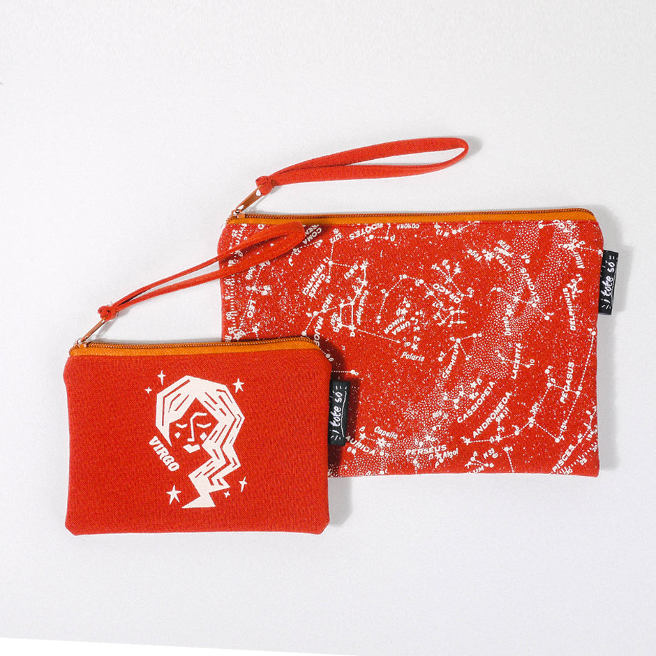 Virgo Zodiac Pouch Set
