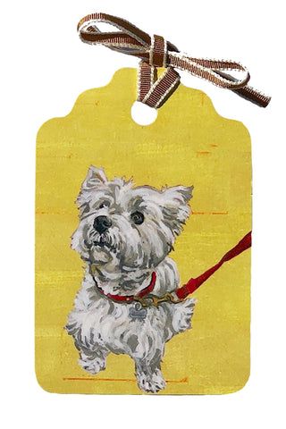 """Biscuit"" Gift Tag"