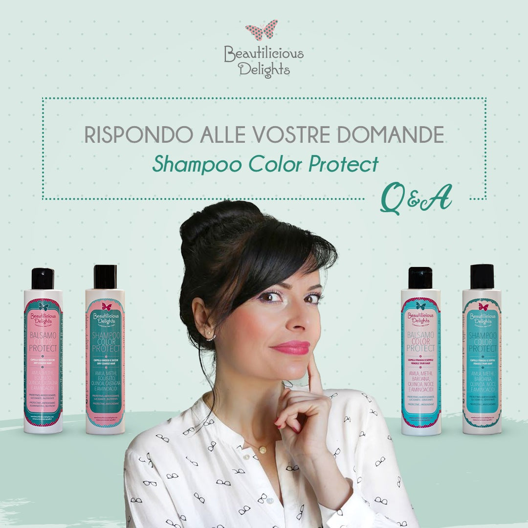 Shampoo - Balsamo COLOR PROTECT per capelli colorati: FAQ