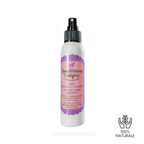 Image of Spray Ristrutturante Lucidante Capelli Crespi - Beautilicious Delights