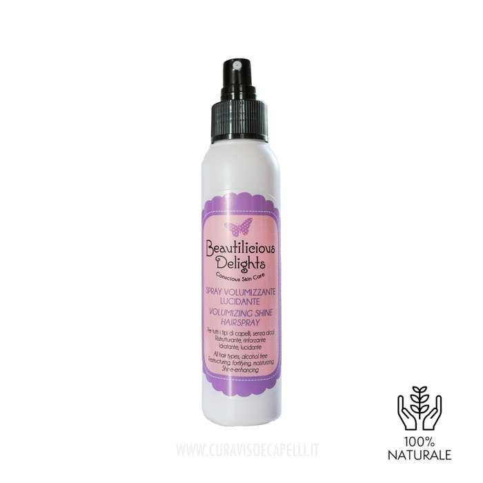 Spray Volumizzante Lucidante Capelli Fini - Beautilicious Delights
