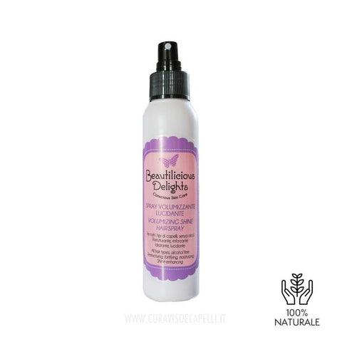 Image of Spray Volumizzante Lucidante Capelli Fini - Beautilicious Delights
