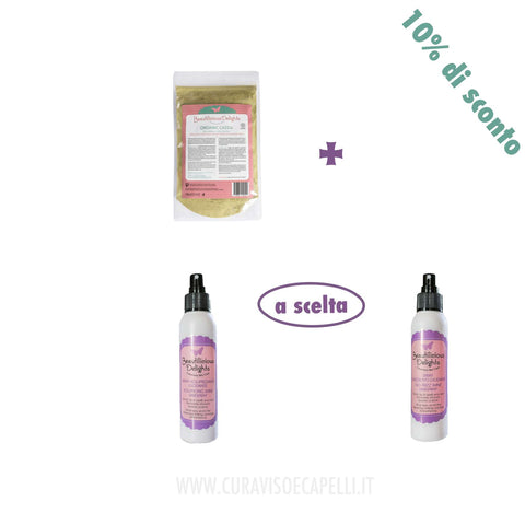 Set Capelli Sani e Felici - Beautilicious Delights