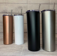 Load image into Gallery viewer, Stainless Steel- Name Tumblers