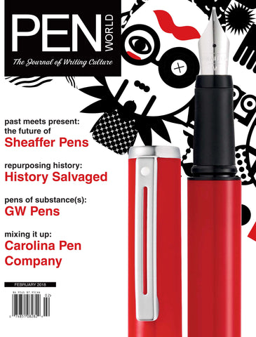 February 2018 Pen World Cover