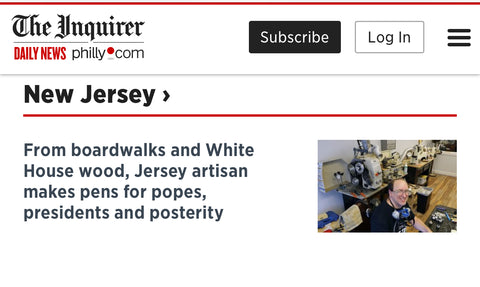 GW Pens featured in Philadelphia Inquirer