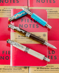 GW Dragonscale Rollerball Pen with Field Notes 5E Character Journal