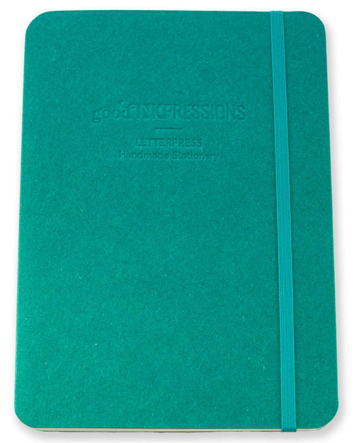 A5 Tomoe River Notebook Journal - Emerald