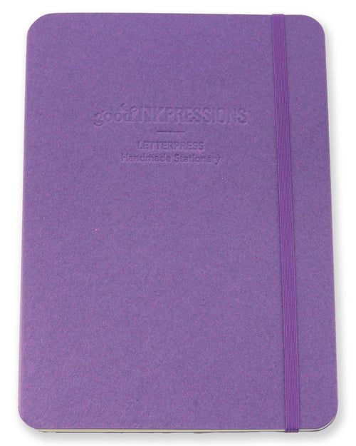 A5 Tomoe River Notebook Journal - Purple