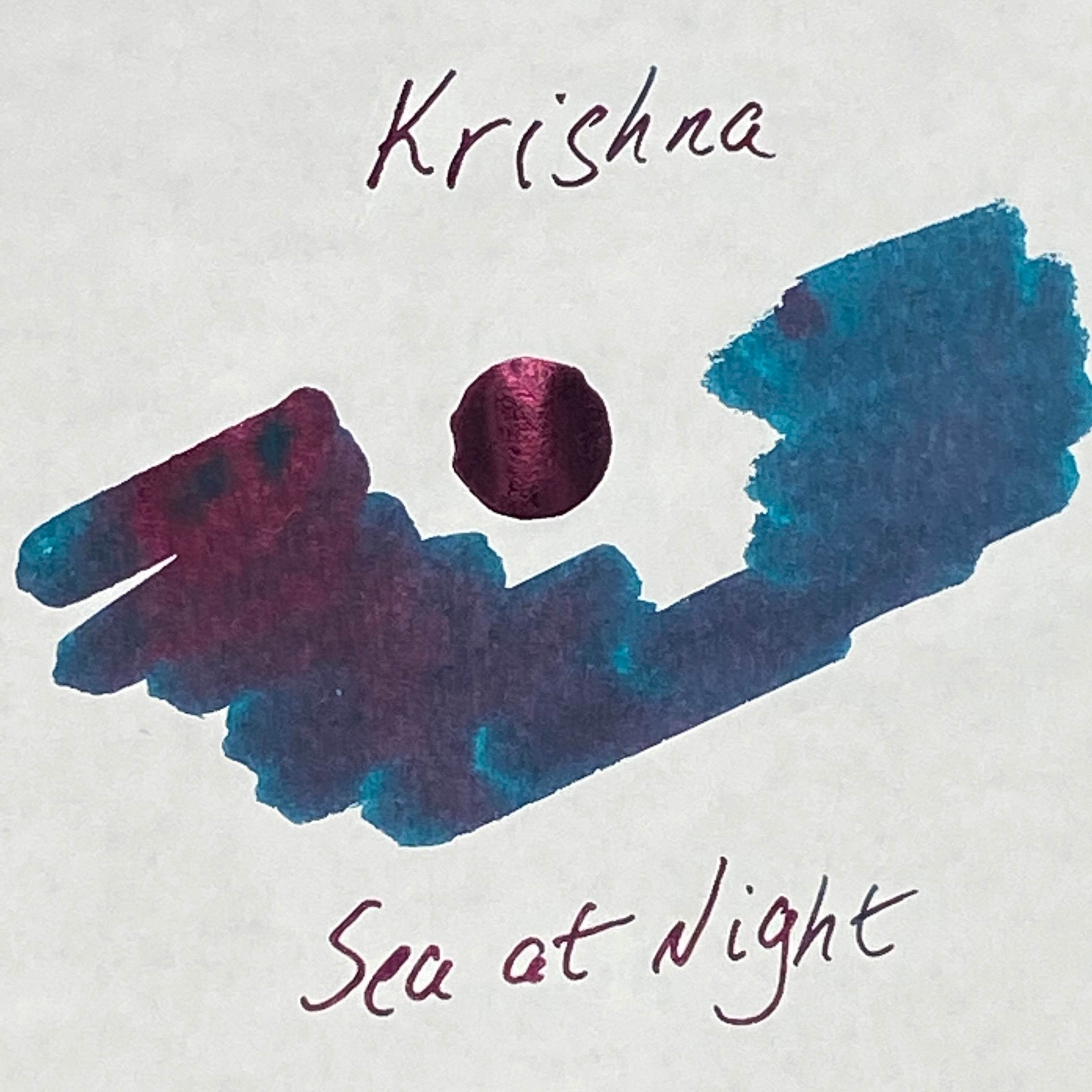 Krishna Inks RC Series - Sea at Night