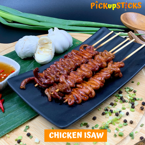 Grilled Chicken Isaw