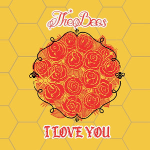 "The Bees - I Love You 7"" Limited Edition Valentines Day Jacket"